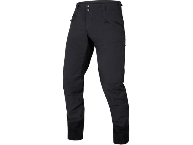 Endura SingleTrack II Pantaloni Uomo, nero
